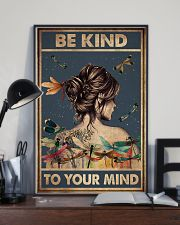 BE KIND TO YPUR MIND 11x17 Poster lifestyle-poster-2