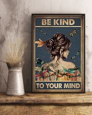 BE KIND TO YPUR MIND 11x17 Poster lifestyle-poster-3