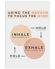 USING THE BREATH 11x17 Poster front