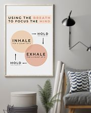 USING THE BREATH 11x17 Poster lifestyle-poster-1