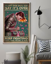 IT AIN'T OVER UNTIL GOD 11x17 Poster lifestyle-poster-1