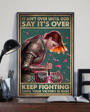 IT AIN'T OVER UNTIL GOD 11x17 Poster lifestyle-poster-2