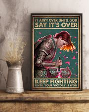 IT AIN'T OVER UNTIL GOD 11x17 Poster lifestyle-poster-3