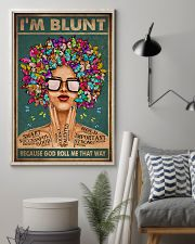 I'M BLUNT BECAUSE GOD ROLL ME THAT WAY 11x17 Poster lifestyle-poster-1