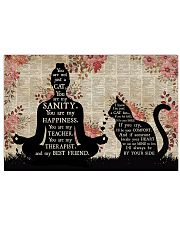 YOU ARE NOT JUST A CAT 17x11 Poster front