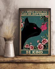 IN A WORLD WHERE YOU CAN BE ANYTHING BE KIND 11x17 Poster lifestyle-poster-3
