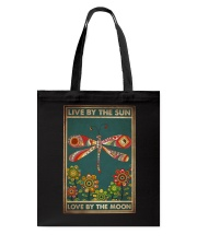 LIVE BY THE SUN LOVE BY THE MOON Tote Bag tile