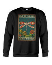LIVE BY THE SUN LOVE BY THE MOON Crewneck Sweatshirt tile