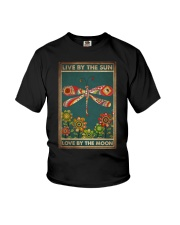LIVE BY THE SUN LOVE BY THE MOON Youth T-Shirt tile