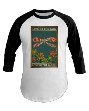LIVE BY THE SUN LOVE BY THE MOON Baseball Tee tile