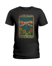 LIVE BY THE SUN LOVE BY THE MOON Ladies T-Shirt tile
