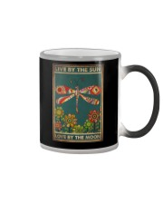 LIVE BY THE SUN LOVE BY THE MOON Color Changing Mug tile