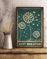 JUST BREATHE 11x17 Poster lifestyle-poster-3