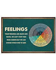 MENTAL HEALTH FEELINGS 17x11 Poster front
