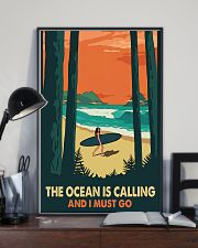 THE OCEAN IS CALLING AND I MUST GO 11x17 Poster lifestyle-poster-2