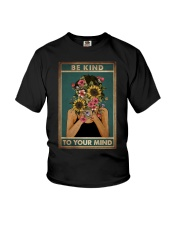 BE KIND TO YOUR MIND Youth T-Shirt tile