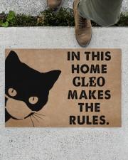 """CAT - DOORMAT - CUSTOM NAME Doormat 34"""" x 23"""" aos-doormat-34-x-23-lifestyle-front-01"""