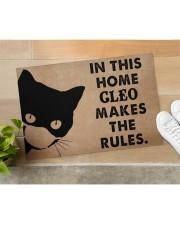 """CAT - DOORMAT - CUSTOM NAME Doormat 34"""" x 23"""" aos-doormat-34-x-23-lifestyle-front-11"""