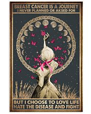 BREAST CANCER IS A JOURNEY 11x17 Poster front