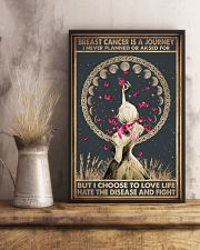 BREAST CANCER IS A JOURNEY 11x17 Poster lifestyle-poster-3