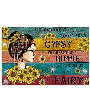 READING GIRL GYPSY HIPPIE FAIRY 17x11 Poster front