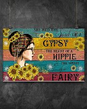 READING GIRL GYPSY HIPPIE FAIRY 17x11 Poster poster-landscape-17x11-lifestyle-12
