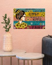 READING GIRL GYPSY HIPPIE FAIRY 17x11 Poster poster-landscape-17x11-lifestyle-21