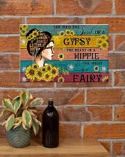 READING GIRL GYPSY HIPPIE FAIRY 17x11 Poster poster-landscape-17x11-lifestyle-23