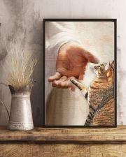CAT - JESUS  11x17 Poster lifestyle-poster-3