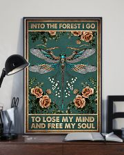 INTO THE FOREST I GO  11x17 Poster lifestyle-poster-2