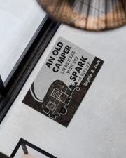 """CAMPER - CUSTOM NAME Doormat 34"""" x 23"""" aos-doormat-34-x-23-lifestyle-front-08"""