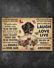 TODAY IS A GOOD DAY 17x11 Poster poster-landscape-17x11-lifestyle-12