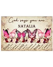 BREAST CANCER AWARENESS - BUTTERFLY 17x11 Poster front
