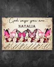 BREAST CANCER AWARENESS - BUTTERFLY 17x11 Poster poster-landscape-17x11-lifestyle-12