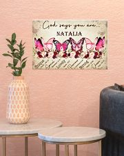 BREAST CANCER AWARENESS - BUTTERFLY 17x11 Poster poster-landscape-17x11-lifestyle-21