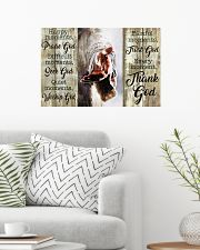 HAPPY MOMENTS - THANK GOD 24x16 Poster poster-landscape-24x16-lifestyle-01