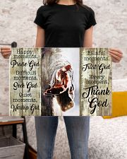 HAPPY MOMENTS - THANK GOD 24x16 Poster poster-landscape-24x16-lifestyle-20