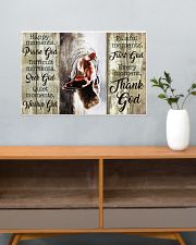 HAPPY MOMENTS - THANK GOD 24x16 Poster poster-landscape-24x16-lifestyle-25