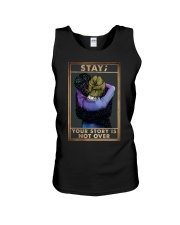 STAY YOUR STORY IS NOT OVER Unisex Tank tile