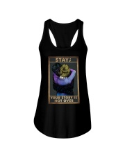 STAY YOUR STORY IS NOT OVER Ladies Flowy Tank tile