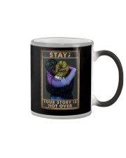 STAY YOUR STORY IS NOT OVER Color Changing Mug tile