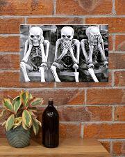 3 SKELETONS 17x11 Poster poster-landscape-17x11-lifestyle-23