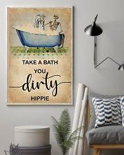 TAKE A BATH YOU DIRTY HIPPIE 11x17 Poster lifestyle-poster-1