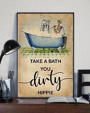 TAKE A BATH YOU DIRTY HIPPIE 11x17 Poster lifestyle-poster-2