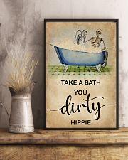 TAKE A BATH YOU DIRTY HIPPIE 11x17 Poster lifestyle-poster-3