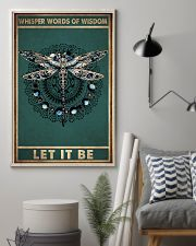 WHISPER WORDS OF WISDOM LET IT BE 11x17 Poster lifestyle-poster-1