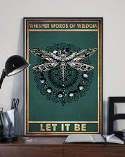 WHISPER WORDS OF WISDOM LET IT BE 11x17 Poster lifestyle-poster-2