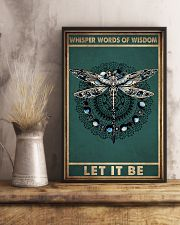 WHISPER WORDS OF WISDOM LET IT BE 11x17 Poster lifestyle-poster-3