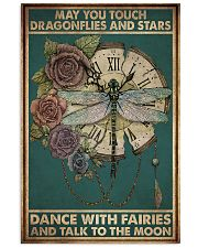 MAY YOU TOUCH DRAGONFLIES AND STAR 11x17 Poster front