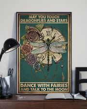 MAY YOU TOUCH DRAGONFLIES AND STAR 11x17 Poster lifestyle-poster-2